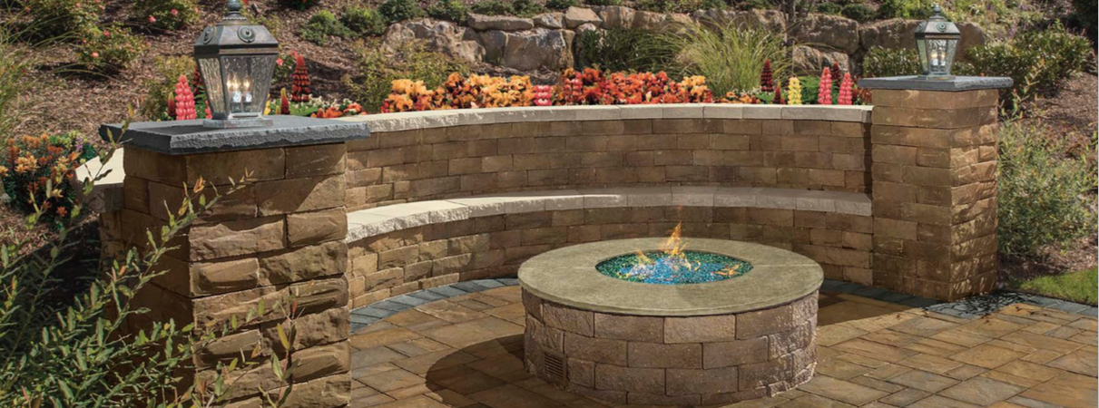 Stone Wall Fireplace Designs
