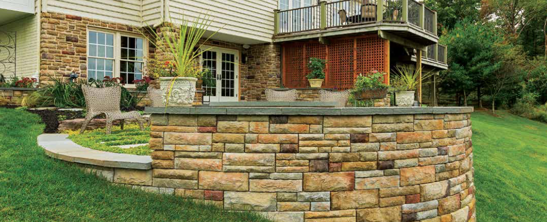 EP Henry Premiere Collection Retaining Walls Harmony